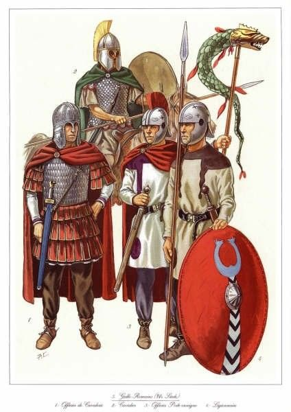 Late Western Roman Army