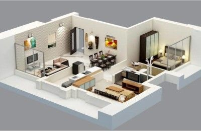 Check Out 2 Bhk Apartment Architecture Drawing And Detail In Autocad Dwg Files News Apartment Interior Design House Design Apartment Architecture