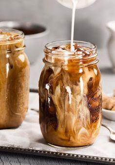 Yum yum - Eiskaffee ist immer eine gute Idee! Wir haben geniale Rezepte!