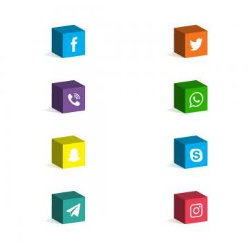 3d Social Media Icons Social Media Icons 3d Telegram Png And Vector With Transparent Background For Free Download Social Media Icons Media Icon Icon