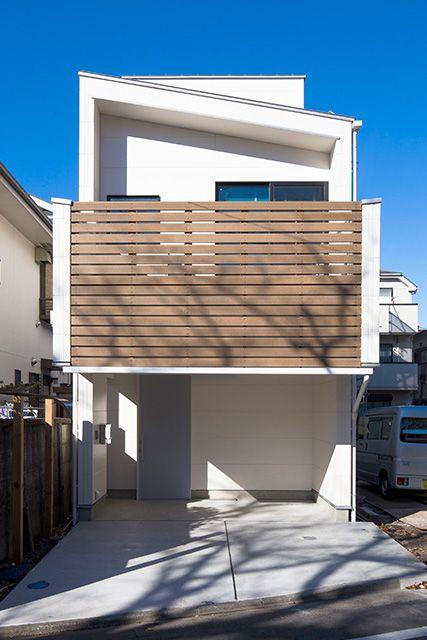 ホープス 施工事例 注文住宅のハウスネットギャラリー 狭小ハウス