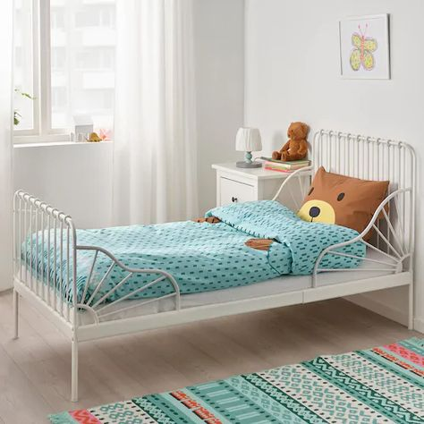 Kapphast Duvet Cover And Pillowcase S Bear Turquoise Twin Ikea Duvet Covers Quilt Cover Kids Bed Linen