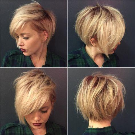 100 Kurzweilige Kurzhaarfrisuren Fur Feines Haar Frisuren