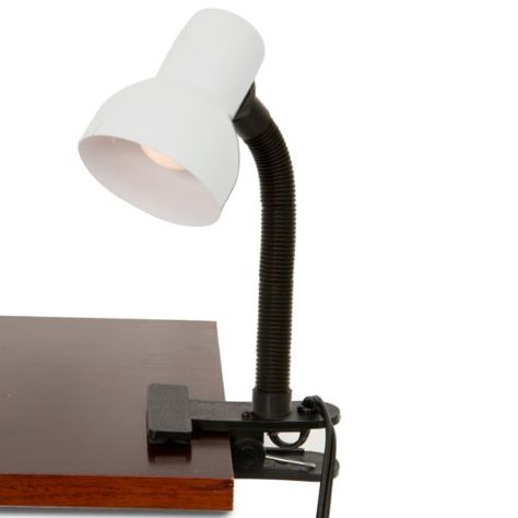 Clip on Light with Adjustable Gooseneck and Strong Clip