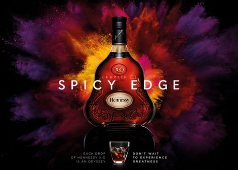 Hennessy Tries to Capture the 7 Flavor Notes of Its X.O. Cognac in Visuals and Sound