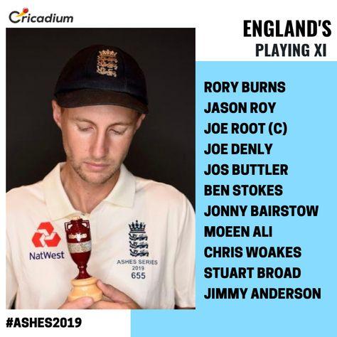 England's Playing XI