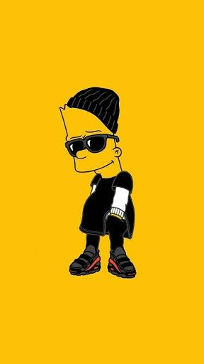 Bart Simpson Wallpaper Iphone 45 Group Wallpapers Fondo De