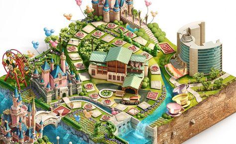 Diseños de tableros para el juego Disney Vacation Club Sweepscakes