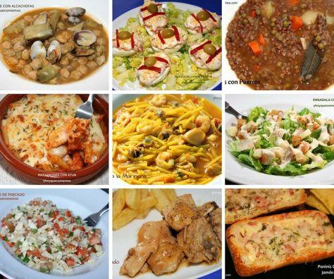 Menu Para La Semana Comida Saludable Economica Comida Y Recetas