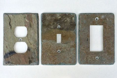 Slate Wall Plates Vermont Rustic Light Switch