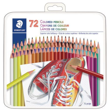Staedtler 72ct Coloured Pencils Coloured Pencils Colored