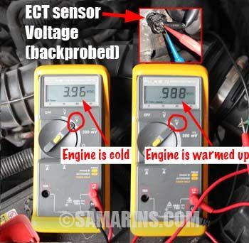Engine Coolant Temperature Sensor How It Works Symptoms Problems Testing In 2020 Sensor Engineering Temperatures