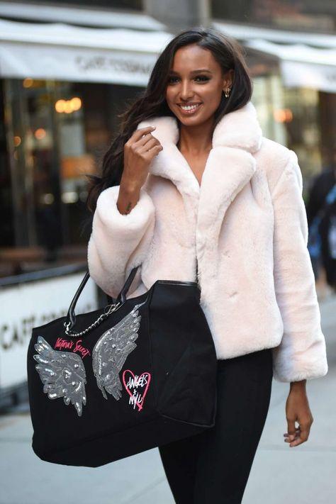 fef6c05879f Jasmine Tookes  Victorias Secret Fashion Show Fittings -12 - GotCeleb