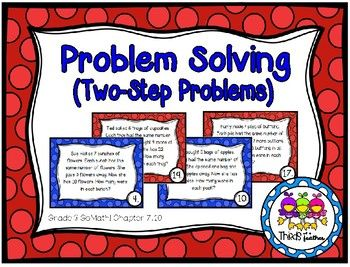 Problem Solving: Two-Step Word Problems (Grade 3 GoMath