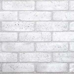 Dundee Deco 3d Retro 16 1000 In X 38 In X 19 In Old Grey Pvc Wall Panel 018 Og The Home Depot Brick Wall Paneling Pvc Wall Panels Modern Wall Tiles