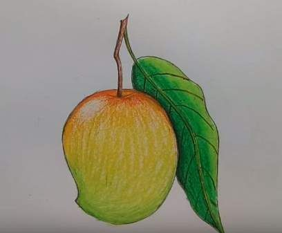 57 Ideas For Fruit Drawing For Kids Children Drawing Fruit With