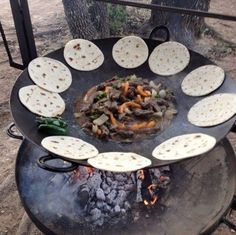 Awesome Grill made out of Tractor Discs