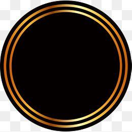 Golden Circle Background Poster Background Design Digital Graphics Art Circular Logo