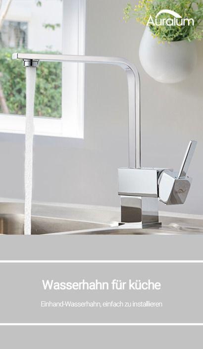 34 99 Hochste Qualitat Modernes Design Einhand Wasserhahn Einfach Zu Installieren Wasserhahn Kuche Wasserhahn Bad Home Decor Decor Sink