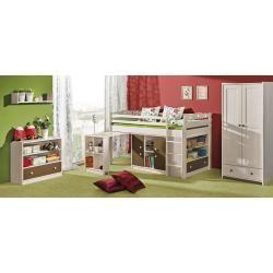 Reduzierte Hochbetten Mit Schreibtisch Hochbett Mit Schreibtisch Kinderzimmer Mobel Und Bett Ideen