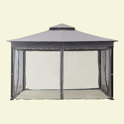 Sunjoy Mosquito Netting For Courtyard Gazebo Screen Gazebo