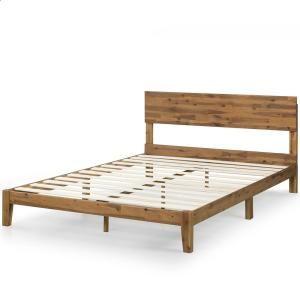 Zinus Julia 10 In Twin Wood Platform Bed With Headboard Hd Swpbh