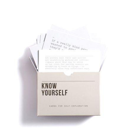 These brilliant cards are designed to assist us in a journey of self-knowledge; they present us with a range of ideas and questions that can help understand our