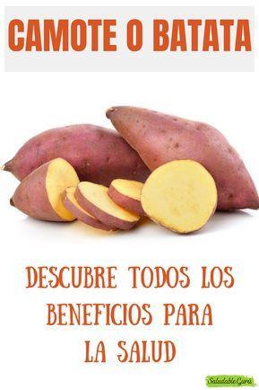 propiedades medicinales de la batata
