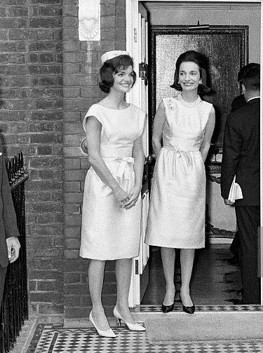 John F Vintage 1961 Photo Mrs Jacqueline Kennedy-First Official Photo Kennedy