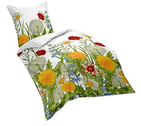 Affiliate Fleuresse Mako Satin Bettwasche Bunt 135 X 200 Cm Bett Bettbezug Bettwasche Kissen Blumen Satin Bettwasche Mako Satin Bettwasche Bettwasche