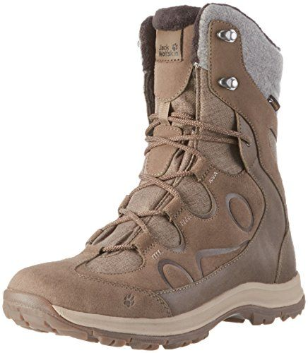 MTN Attack 5 Texapore Mid W Wasserdicht, Chaussures de Randonnée Hautes Femme, Gris (Grey Haze), 39 EUJack Wolfskin