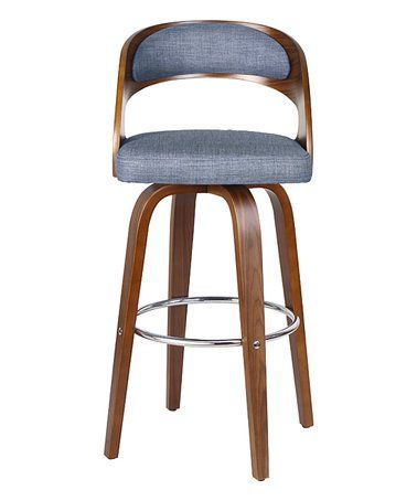 This Blue Anders Bar Stools Is Perfect Zulilyfinds With Images