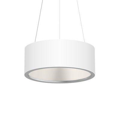 Sonneman Tromme 1 Light Led Pendant Finish Satin White Led Light Design Modern Pendant Light Pendant Lighting