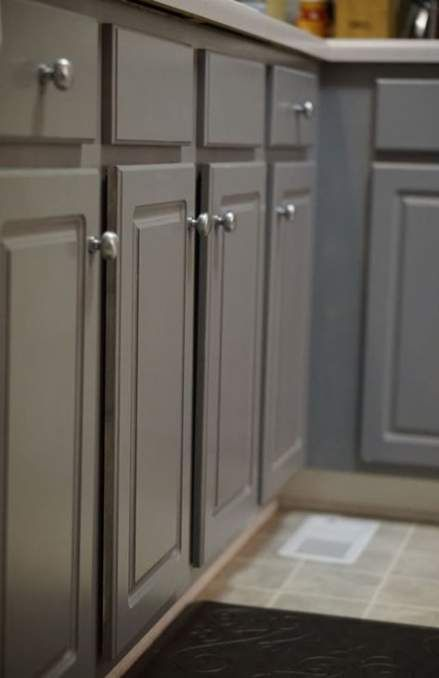 Kitchen Cabinets Painted Valspar 20 Ideas For 2019 Grey Kitchen Colors Painted Kitchen Cabinets Colors Grey Painted Cabinets