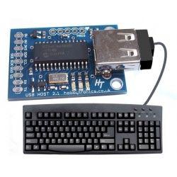 Hobbytronics Usb Host Keyboard To Ascii Converter Keyboard Usb Ascii