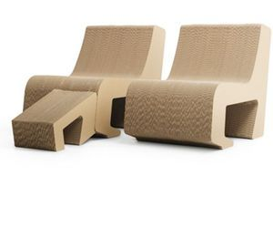 Cardboard Furniture By Sanserif