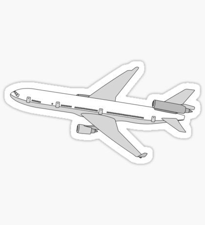 Plane Stickers Aesthetic Stickers Stickers Vinyl Decal Stickers