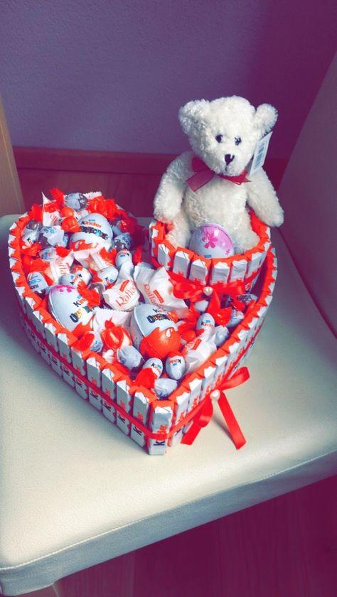 #present #geschenk #hediye #schokolade #kinderschokolade