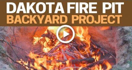 Home Fire Pit Build Free Design Dakota Fire Hole Family