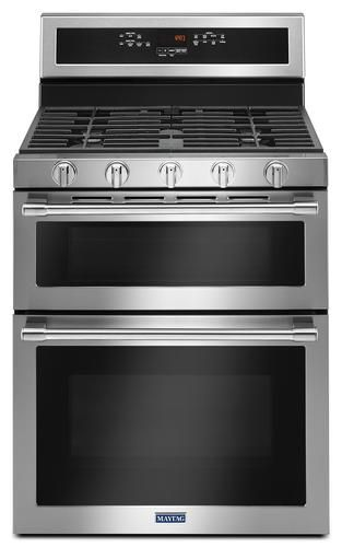 Maytag 30 Gas 6 0 Cu Ft Double Oven Convection Range At Menards Maytag Reg 30 Gas 6 0 Cu Ft Double Oven Convecti Double Oven Double Oven Kitchen Gas Oven