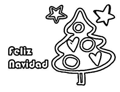árbol Navidad En Tarjeta Felicitación Feliz Navidad Tarjeta De Felicitación Tarjetas Para Felicitar