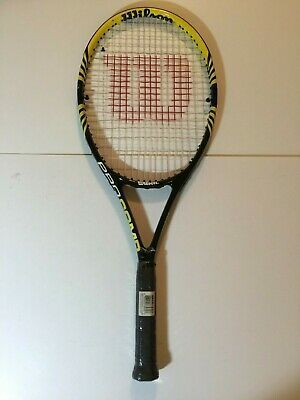 Wilson Pro Comp Tennis Racquet Grip Size 4 In 2020 Tennis Racquet Tennis Racquets