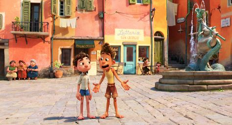 'Luca' is Pixar's Intro to Italy