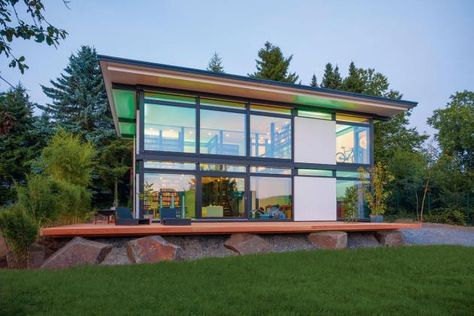 Prefab House By In Silicon Valley Kitset Pinterest Modular Homes Prefab And Prefab  Homes