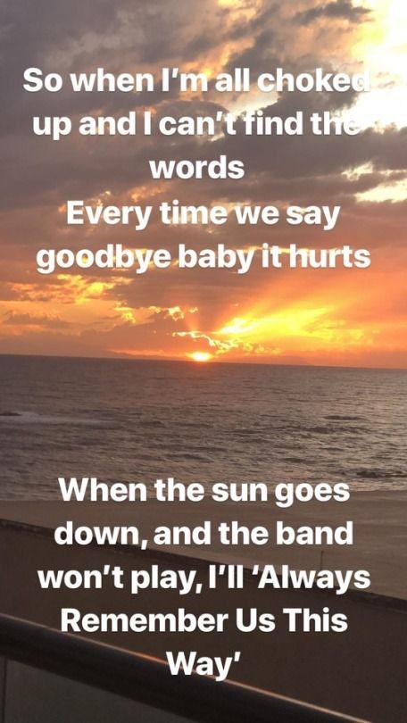 Gaga Chronicles October 12 2018 Image Of Lyrics From Always