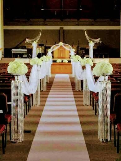 Aisle Decorations Chandelier Centerpieces Chandelier Centerpieces