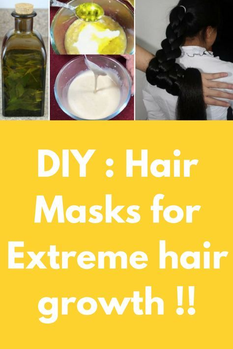 Diy Hair Masks For Extreme Hair Growth This Is A Really Quick And Easy Hair Mask For Fast Hair Growt Extreme Hair Growth Extreme Hair Grow Hair Faster Diy