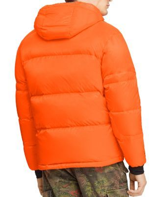 Ralph Jacket Shock Lauren Polo Jackson Down Orange n8w0OPk