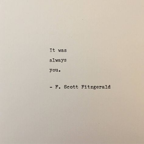 Scott Fitzgerald Quote Written on Typewriter - Unique Gift . Scott Fitzgerald Quote Written on Typewriter - Unique Gift - Quotes F. Scott Fitzgerald quote written on typewriter - unique gift . F Scott Fitzgerald, Scott Fitzgerald Citations, Love Quotes For Boyfriend, Love Quotes For Him, Quotes To Live By, The One That Got Away Quotes, Unique Love Quotes, Husband Quotes From Wife, Love Story Quotes