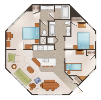 Disney Treehouse Villas Floor Plan Treehouse Villas Floor Plans Tree House